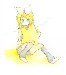 Rating: Safe Score: 3 Tags: kagamine_rin tomine_chiho vocaloid User: charunetra