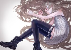 Rating: Safe Score: 21 Tags: dress thighhighs window User: Mr_GT