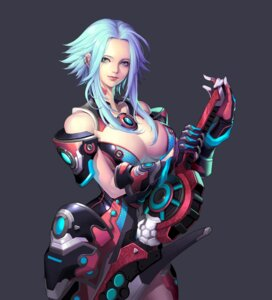 Rating: Safe Score: 45 Tags: armor cleavage scarlet_blade soo_kyung_oh weapon User: Radioactive