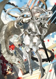 Rating: Safe Score: 37 Tags: armor heels million_arthur_irakon_ken saberiii sword User: Mr_GT