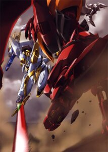 Rating: Safe Score: 14 Tags: code_geass mecha nakada_eiji User: Aurelia