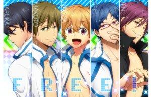 Rating: Safe Score: 2 Tags: free! hazuki_nagisa kl male matsuoka_rin nanase_haruka_(free!) ryugazaki_rei tachibana_makoto wet User: animeprincess