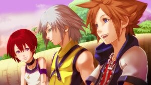 Rating: Safe Score: 16 Tags: kairi_(kingdom_hearts) kingdom_hearts mimutadayoooooo riku_(kingdom_hearts) sora_(kingdom_hearts) User: Radioactive