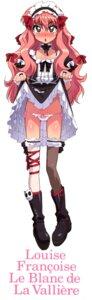 Rating: Questionable Score: 13 Tags: gothic_lolita lolita_fashion louise pantsu skirt_lift thighhighs zero_no_tsukaima User: milksakura