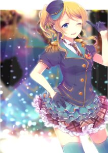 Rating: Safe Score: 30 Tags: ayase_eli dress hina love_live! stockings thighhighs User: TT1234