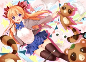 Rating: Questionable Score: 63 Tags: gekkan_shoujo_nozaki-kun pantsu sakura_chiyo seifuku thighhighs xin User: blooregardo