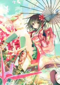 Rating: Safe Score: 55 Tags: eefy kimono shino_(eefy) User: yong