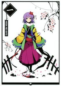 Rating: Safe Score: 17 Tags: hieda_no_akyuu ideolo neko_worki touhou User: fireattack