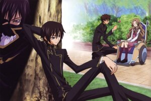 Rating: Safe Score: 9 Tags: code_geass kururugi_suzaku lelouch_lamperouge nunnally_lamperouge shinbo_takurou User: Aurelia