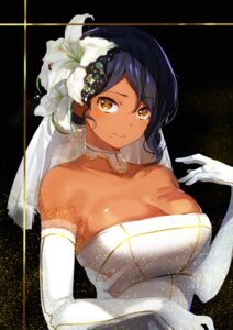 Rating: Safe Score: 43 Tags: cleavage dress konbu_wakame wedding_dress User: Mr_GT