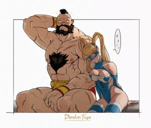 Rating: Questionable Score: 8 Tags: cleavage dandon_fuga leotard mika rainbow_mika street_fighter thighhighs zangief User: NotRadioactiveHonest
