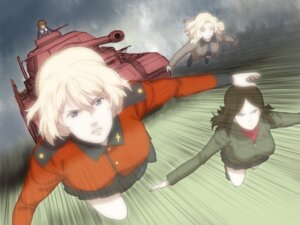 Rating: Safe Score: 7 Tags: a1 girls_und_panzer initial-g User: NotRadioactiveHonest