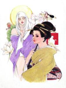 Rating: Safe Score: 3 Tags: kimono sumeragi_natsuki User: Radioactive
