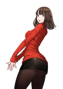 Rating: Questionable Score: 40 Tags: ass jun_(seojh1029) pantyhose sweater User: yanis