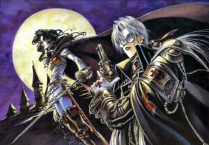 Rating: Safe Score: 5 Tags: abel_nightroad armor gun megane pantyhose sword thighhighs thores_shibamoto trinity_blood User: Radioactive