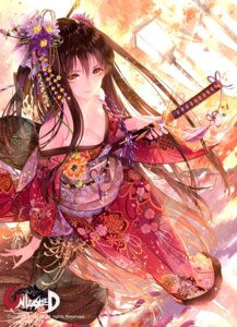 Rating: Safe Score: 94 Tags: cleavage kimono open_shirt rozer sword unleashed User: Mr_GT