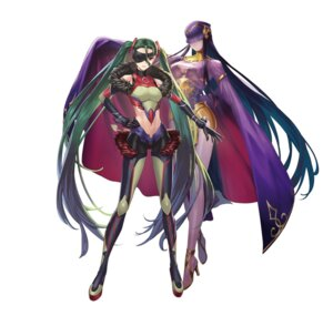 Rating: Questionable Score: 11 Tags: armor cleavage cuboon eyepatch fire_emblem_heroes gen'ei_ibun_roku_#fe heels kiria_kurono nintendo see_through tail tharja User: fly24