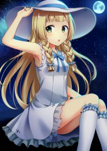 Rating: Safe Score: 74 Tags: dress lillie_(pokemon) pokemon see_through yuusa User: charunetra