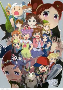 Rating: Safe Score: 5 Tags: adventure_time crossover finn_the_human harukaze_doremi heartcatch_pretty_cure! hyouka jake_the_dog jeff_(mother) jewelpet jewelpet_twinkle kuromi_(sanrio) kurumi_erika manaka_lala mizu_asato mother nagato_kayoko ness ojamajo_doremi onegai_my_melody paula pretty_cure pretty_rhythm pretty_rhythm:_rainbow_live pripara rinne_(pretty_rhythm) sakura_akari seifuku User: Radioactive