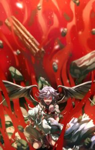 Rating: Safe Score: 16 Tags: blood eredhen izayoi_sakuya maid remilia_scarlet touhou wings User: Mr_GT