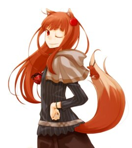 Rating: Safe Score: 16 Tags: animal_ears ayakura_juu holo spice_and_wolf tail User: Radioactive