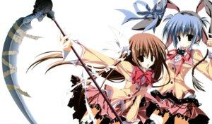 Rating: Safe Score: 48 Tags: animal_ears bunny_ears fixed hasegawa_isaac_izumi_mercedes_jakoko inugami_kira makura seifuku supreme_candy tsuyuki_yuuri User: castle