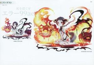 Rating: Safe Score: 8 Tags: bachiko horns kairisei_million_arthur no_bra tattoo User: Radioactive