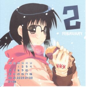 Rating: Safe Score: 8 Tags: calendar cut_a_dash!! genshiken megane mitsumi_misato ogiue_chika User: Radioactive