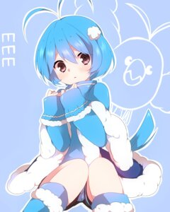 Rating: Safe Score: 39 Tags: anthropomorphization pokemon swablu takeshima_(nia) User: charunetra