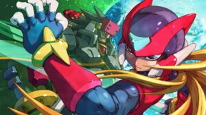 Rating: Safe Score: 14 Tags: bodysuit capcom craft male rockman rockman_zero rockman_zero_4 sword tetsuno_kyojin zero_(rockman) User: Radioactive