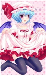 Rating: Safe Score: 18 Tags: remilia_scarlet shimotsuki_keisuke skirt_lift touhou User: 椎名深夏