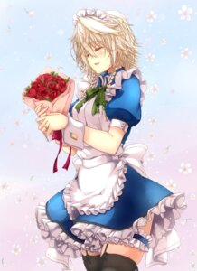 Rating: Safe Score: 35 Tags: garter izayoi_sakuya maid mickey_dunn stockings thighhighs touhou User: Mr_GT