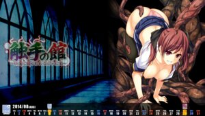 Rating: Questionable Score: 20 Tags: calendar devil-seal nipples no_bra open_shirt pantsu seifuku tentacles wallpaper User: girlcelly