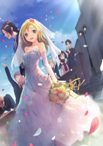Rating: Safe Score: 50 Tags: armin_arlelt bertholt_fuber christa_lenz dress eren_jaeger mikasa_ackerman reiner_braun shingeki_no_kyojin shouin wedding_dress ymir_(shingeki_no_kyojin) User: Radioactive