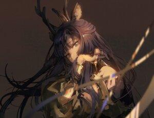 Rating: Safe Score: 12 Tags: animal_ears arknights horns kagura_tohru tsukinogi_(arknights) User: Mr_GT