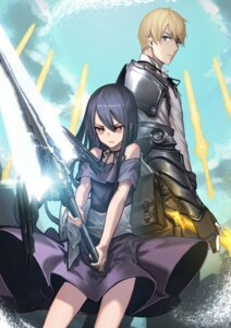Rating: Safe Score: 10 Tags: armor dress fixro2n skirt_lift sword User: Dreista