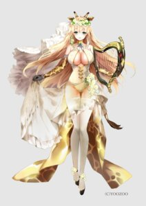 Rating: Questionable Score: 32 Tags: animal_ears heels horns leotard mafuyu no_bra red_pride_of_eden see_through skirt_lift tail thighhighs User: zyll