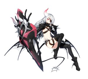 Rating: Questionable Score: 21 Tags: armor closers eyepatch heels horns luna_aegis no_bra tagme tail thighhighs wings User: Nepcoheart