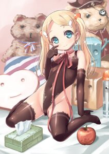 Rating: Questionable Score: 75 Tags: erect_nipples jjjjjjj leotard loli nopan thighhighs User: Mr_GT