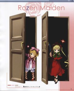 Rating: Safe Score: 12 Tags: bloomers hina_ichigo kantoku lolita_fashion rozen_maiden shinku User: petopeto