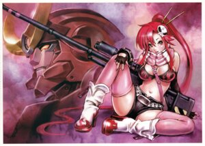 Rating: Questionable Score: 38 Tags: bikini_top cleavage fixed gun heels mecha tengen_toppa_gurren_lagann thighhighs yamashita_shunya yoko User: zipp
