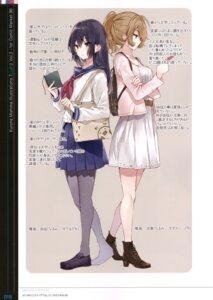 Rating: Safe Score: 14 Tags: heels mishima_kurone pantyhose seifuku tagme User: kiyoe