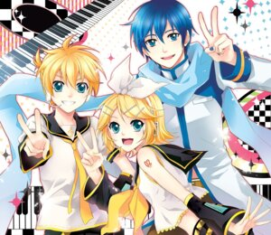 Rating: Safe Score: 7 Tags: kagamine_len kagamine_rin kaito m-ca vocaloid User: charunetra