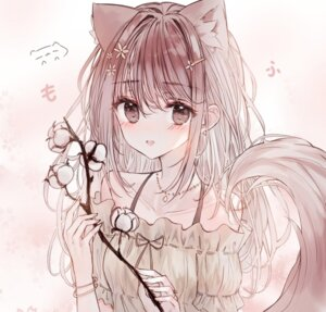 Rating: Safe Score: 10 Tags: animal_ears kitsune tagme tail tandohark User: Dreista