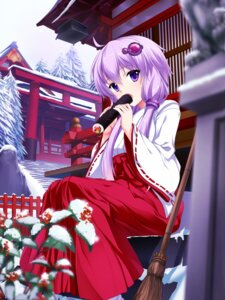 Rating: Safe Score: 48 Tags: bug miko vocaloid yuzuki_yukari User: Mr_GT
