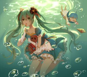 Rating: Safe Score: 27 Tags: dress hatsune_miku lan_jue vocaloid User: KazukiNanako