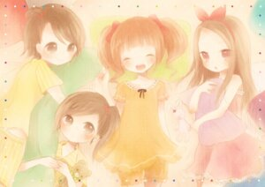 Rating: Safe Score: 17 Tags: futami_ami futami_mami minase_iori ou takatsuki_yayoi the_idolm@ster User: Radioactive