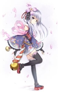 Rating: Questionable Score: 94 Tags: karumayu lolita_fashion thighhighs wa_lolita User: 桃花庵の桃花