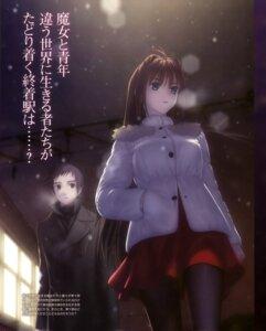 Rating: Safe Score: 33 Tags: aozaki_aoko koyama_hirokazu mahou_tsukai_no_yoru pantyhose shizuki_soujuurou type-moon User: Ravenblitz