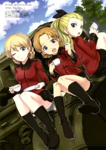 Rating: Safe Score: 20 Tags: assam darjeeling girls_und_panzer hi-ho- orange_pekoe uniform User: drop